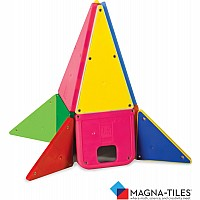 Magna-Tiles Solid Colors 48 Piece DX Set