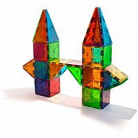 Magnatiles (Magna Tiles) Clear Colors 100 Piece Set