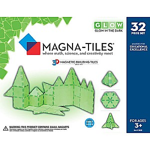 Magna-Tiles Glow 32-Piece Set