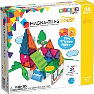 Magna-Tiles?? House 28-Piece Set