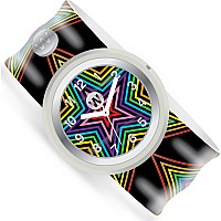 Rainbow Stars - Watchitude Slap Watch