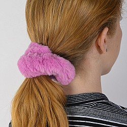 Pink Lip Gloss - Scrunchie - Fuzz'D X Watchitude