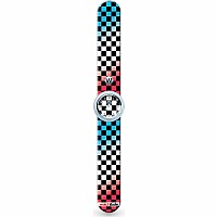 Checkered Flag - Watchitude Slap Watch