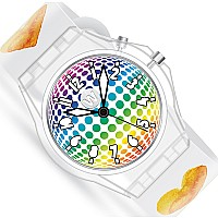 Watercolor Hearts - Light Up Watch - Watchitude Glow