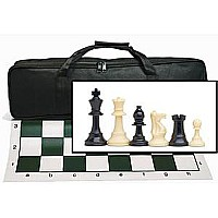 We Games Tournament Chess Set With Canvas Bag