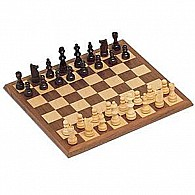 We Games Walnut Chess Set  12""