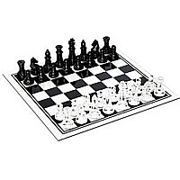 We Games Glass Chess Set