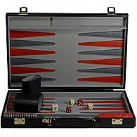Black Backgammon Set