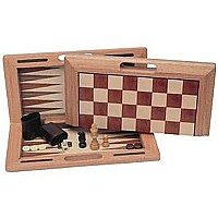 3-in-1 Camphor Wood Combination Set With A Folding Board