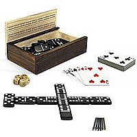 10-in-1 Combination Set Dominoes and More!