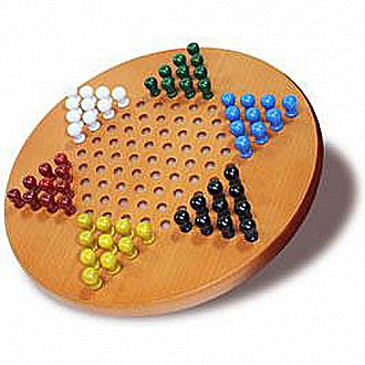 "We Games Chinese Checkers 11"" Diameter"