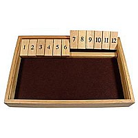 We Games Shut-the-box