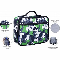 Camo Green Lunch Box