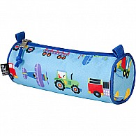 Trains, Planes Trucks Pencil Case