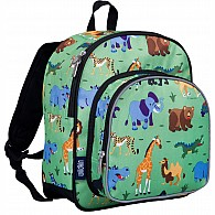 Wild Animals Pack 'n Snack Backpack