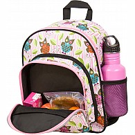 Owls Pack 'n Snack Backpack