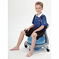 Weplay Ball Chair with Locking Casters (small)