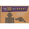Build Your Own 3D Wind-Up Robot Puzzle Kit