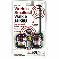 Worlds Smallest Walky Talkies