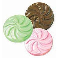 Wed Mint Discs Candy Mold