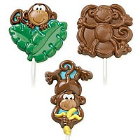Monkey Lrg Lollipop Mold