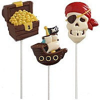 Pirate Lrg lollipop Mold