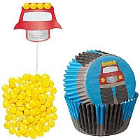 Cupcake Dec Kit Truck 48ct