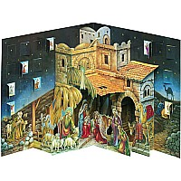 3-D Pop-up Nativity