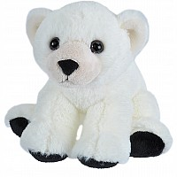 Baby Polar Bear Stuffed Animal - 8""