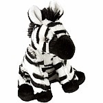 Baby Zebra Stuffed Animal - 8""