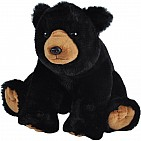 Black Bear Stuffed Animal - 12""