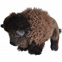 Bison Stuffed Animal - 12""