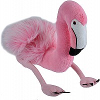 Flamingo Stuffed Animal - 12""