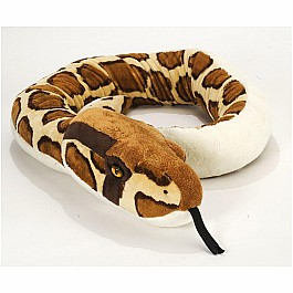 Wild Republic Stuffed Animal Snake Burmese Python 54 Inch Class