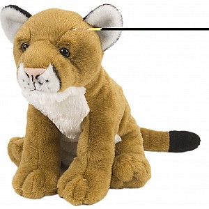 Mountain Lion Stuffed Animal - 12""