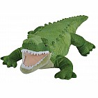 Green Alligator Stuffed Animal - 12""