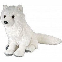 Arctic Fox Stuffed Animal - 12""