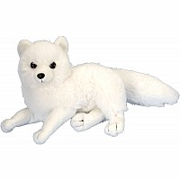 Arctic Fox Stuffed Animal - 8""