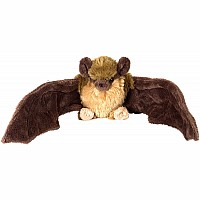 Brown Bat Stuffed Animal - 8""