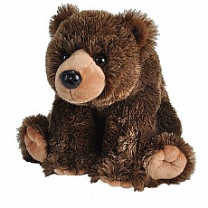 Grizzly Bear Stuffed Animal - 12""