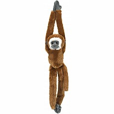 Hanging Lar Gibbon Stuffed Animal - 20""