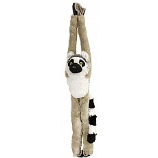 Hanging Ring Tailed Lemur Stuffed Animal - 20