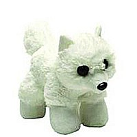 Arctic Fox Stuffed Animal - 7""