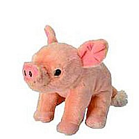 Baby Pig Stuffed Animal - 8""
