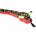 Colorful Snake Stuffed Animal - 70""