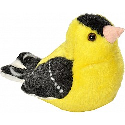 Audubon II American Goldfinch Stuffed Animal - 5""