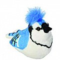 Audubon II Blue Jay Stuffed Animal - 5""