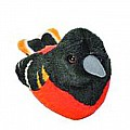 Audubon II Baltimore Oriole Stuffed Animal - 5""