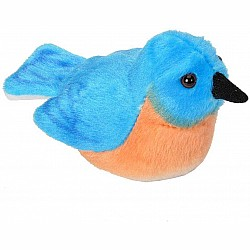 Audubon II Eastern Bluebird Stuffed Animal - 5""