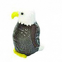 Audubon II Bald Eagle Stuffed Animal with Sound - 5""